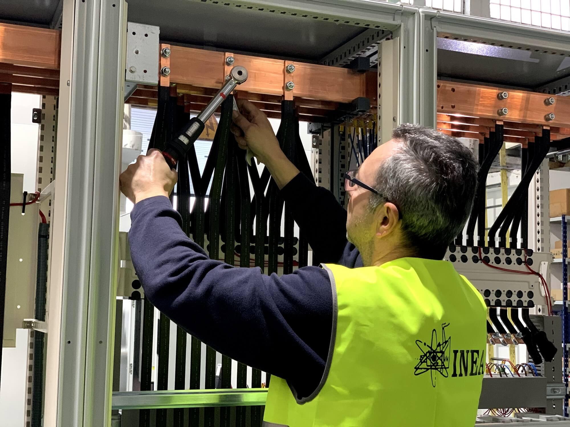 Fabricación de armarios de potencia en Valladolid