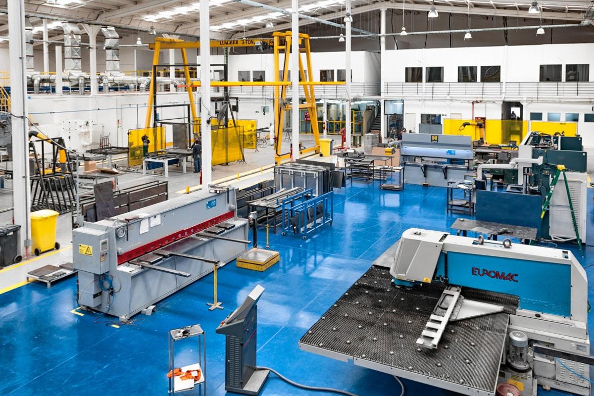 Automatización plantas de producción en Burgos