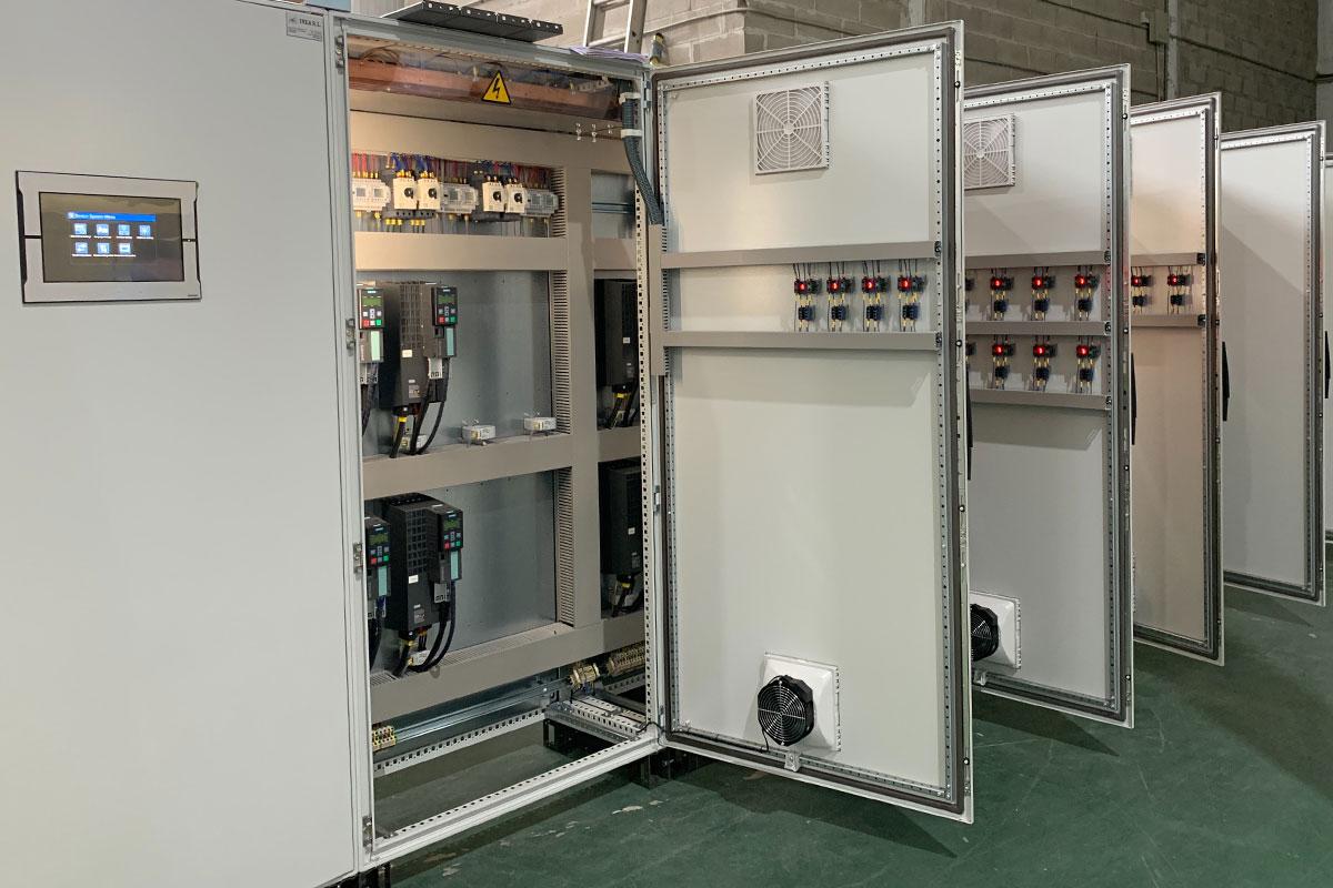 Iluminación de equipos industriales